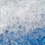 Zak met crushed ice van 8 kilo