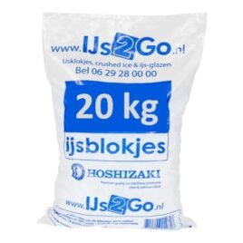 Zak IJsklontjes 20 KG (Afhalen)
